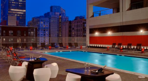 Sonesta Philadelphia Rooftop Pool